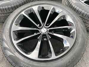 4 Genuine Bentley Bentayga 21 Inch Wheels Tires Rims Oem Factory Black Rare