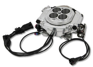 Holley Super Sniper Efi 550 512 Polished 1250hp Blow Thru Forced Induction