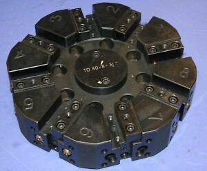 1 Used Pragati Td 80 8 3 4 Slotted Tool Disc With Ath 160 1 1 2 Tool Holder