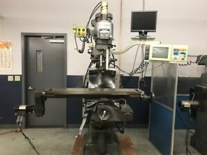 Bridgeport Series Ez trak Dx 2 axis Vertical Knee Mill