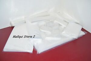 500 Clear 8 X 14 Poly Bags Plastic Lay Flat Open Top Packing Uline Best 2 Mil