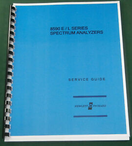 Hp 8590 Series Service Guide In Three ring Binder