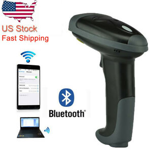 Portable Laser Barcode Scanner Reader Bar Code Handheld Usb Wireless For Pos