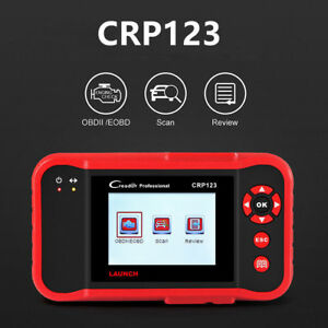Launch X431 Crp123 Obd2 Code Reader Creader Scanner Engine Transmission Abs Srs
