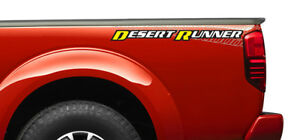 One New Oem 2013 Nissan Frontier Right Side Bed Decal Desert Runner 990989bf1a