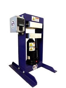 The Original Purple Power Rosin Press Xl 5 x5 Heated Pads Solvent Free 6 Ton
