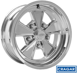 Cragar 500c Eliminator Chrome 15x8 5x4 5 0 Quantity Of 1
