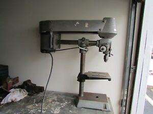 Vintage Delta Radial Arm Drill Press Working Condition