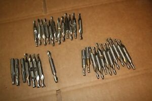 Lot Of 31 Used End Mills