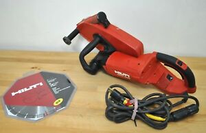 Hilti Tool Dch 300 Electric Concrete Saw Demo Remodel New 12 Diamond Blade