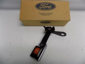 New Oem 96 97 Ford Explorer Seatbelt Seat Belt Buckle End Rear Left Hand Side