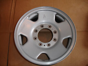 Factory Oem Wheel Rim 8 Lug 17x7 1 2 Steel Ford F250 F350 Pickup Truck Argent A