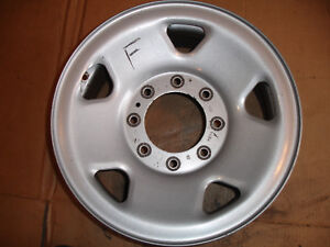 Factory Oem Wheel Rim 8 Lug 17x7 1 2 Steel Ford F250 F350 Pickup Truck Argent F