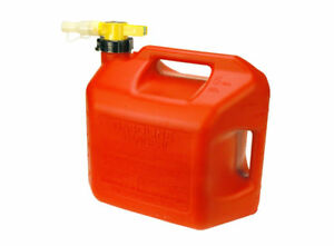 No spill 5 Gallon Gas Can red