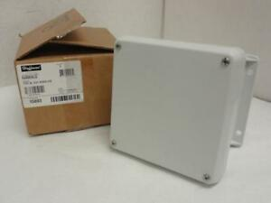 173205 New In Box Hoffman Hj606wlg Fiberglass Enclosure 15893 6 X 6 X 4