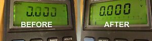 Matco Md 88 Fluke 88 Lcd Display Repair Kit And Step By Step Photo Instructions