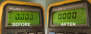Fluke 87 Display Repair Kit And Step By Step Photo Instructions