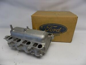 New Oem 1996 1998 Ford Mustang 4 6l V8 Intake Manifold Assembly Lower Dohc