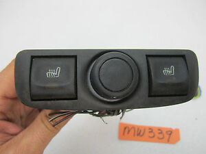 97 01 Catera Back Rear Seat Heater Heat Switch Console Car Oem Cigarette Lighter