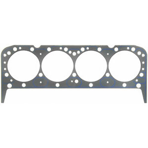 Fel pro 1043 Sbc Chevy 327 350 Performance Head Gasket Each 4 080 039 Thick