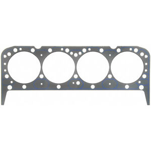 Fel Pro 1043 Sbc Chevy Head Gasket Each 4 080 039 Thick 262 350 Race