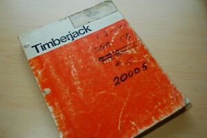 Timberjack Tj 30 Feller Trimmer Harvester Log Logging Parts Catalog Manual Book
