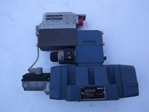 R978714492 Bosch Rexroth Hydraulic Proportional Directional Control Valve