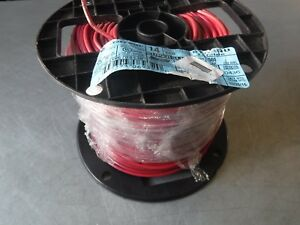 New 500 Encore Wire Awg 14 Stranded Red Wire Thhn 600v 90c Usa