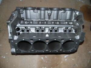 Small Block Chevy Chevrolet 400 406 Block Will Clean 030 Original Gm 010