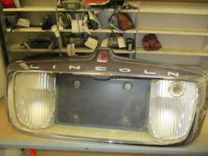Tail Finish Panel Excluding Cartier Fits 98 02 Lincoln Town Car 3792