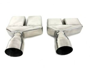 1970 1974 Dodge Challenger Stainless Steel 3 Exhaust Tips 70 71 72 73 74