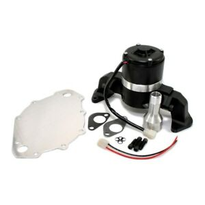 Electric Water Pump Billet Aluminum Black High Volume Hv Big Block Ford 429 460
