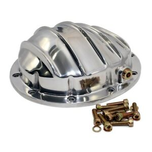 Aluminum Rear Differential Cover Polished 10 Bolt 8 5 Ring Gear Chevy Gm