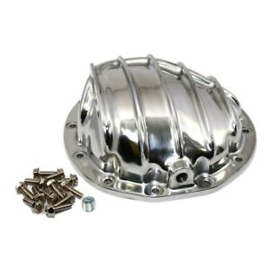 Finned Differential Cover Chevy Gm 12bolt 12 Bolt Rear Axle Polished Aluminum