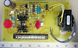 Crouse hinds Airport Lighting 41807 1 Rev A Light Control Board Module