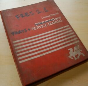Lansing Bagnall Fres 2 1 Electric Reach Truck Parts Repair Shop Service Manual