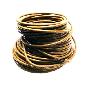 215 Ft Cme Wire Cable Brown 3 0 Awg Electrical Wire Copper E102470s