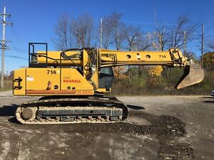 Heavy Equipment Gradall Excavator