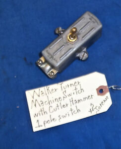 Walker Turner Machine Switch With Switch Drill Press Jointer Scroll Saw