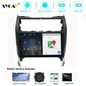 10 2 Android 9 0 Car Radio For 2012 2014 Toyota Camry Stereo Gps Nav Head Unit