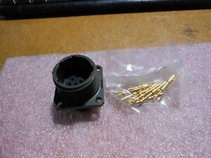 Bendix Connector W contacts Part 81 524848 33p Nsn 5935 01 094 5926