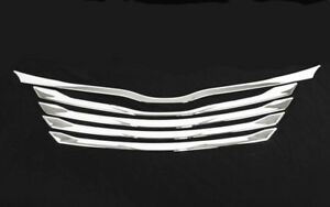 Toyota Sienna 2011 2017 Front Grill Chrome Cover Trim Garnish Abs 5pcs