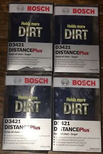 Bosch D3421 Engine Oil Filter Distance Plus Oil lot Of 4 Packs New