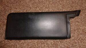 1968 1969 Dodge Charger Coronet Super Bee Left Lower Black Dash Pad Soft