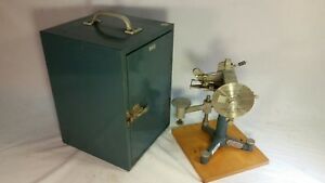 Central Scientific Cenco Du Nouy Interfacial Tensiometer With Case Vintage Sci