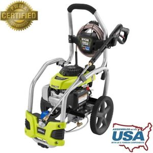 Ryobi 3100 psi 2 5 Gpm Honda Gas Pressure Washer Idle Down Outdoor Cleaner Tool