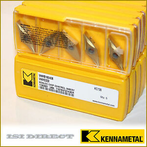 Vnms 332 Kc730 Kennametal 10 Inserts Factory Pack