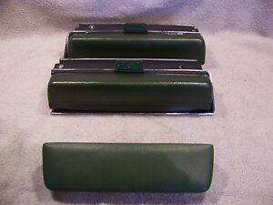 1971 Chrysler Imperial Arm Rests W Bezels Green 2 Dr Lebaron Coupe 1970 3