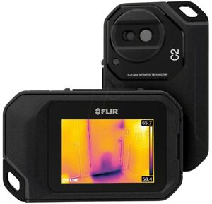 Flir C2 Compact Thermal Imaging System 3 Touch Screen Includes Free Carry Case