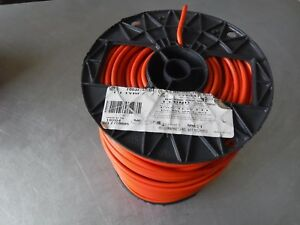 New 500 Awg 10 Stranded Orange Wire Mtw 600v 90c Carol 76832 18 04 Usa